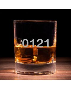 '0121' Traditional Whisky Glass