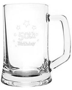 50th Birthday Stern Tankard