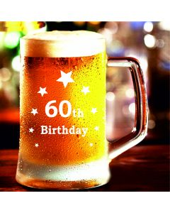 60th Birthday Stern Tankard