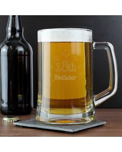 18th Birthday Glass Stern Beer Tankard