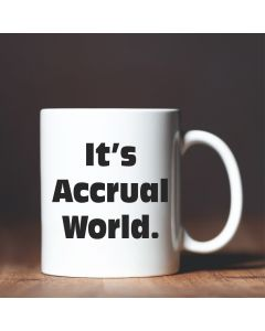 11oz Ceramic Mug With It's Accural World Design