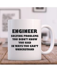 Engineer Solving Problems Design 11oz Ceramic Mug