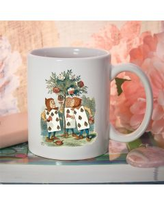 British Library Classic Alice in Wonderland Ceramic Mug with The Playing Cards Design