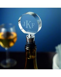 Personalised Engraved Chrome Bottle Stopper