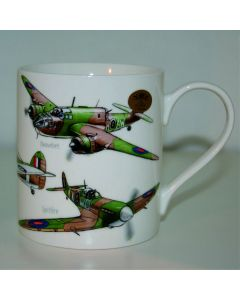 Bone China Classic Plane Mug Boxed