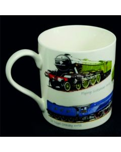 Classic Trains Mug Gift Boxed