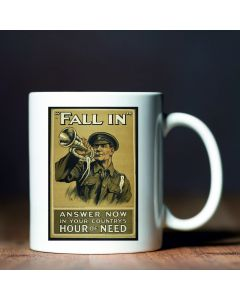 Fall in British Library World War I Commemorative Mug