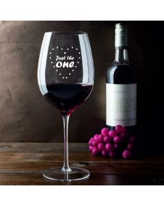 """Just The One"" 750ml Wine Glass (Holds a Whole Bottle of Wine)"