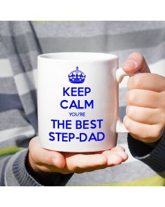 Keep Calm You're The Best Step-Dad Mug