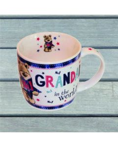 Number 1 Grandad in the World Ceramic Mug with Presentation Box