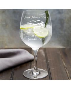 Personalised Graduation Design Copa Gin Glass