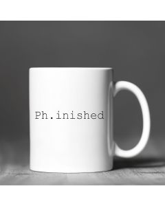 11oz Ceramic Mug With Ph.inished Design