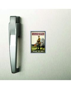 Remember Belgium British Library World War I Commemorative Fridge Magnet