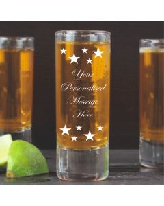 Personalised Starry Shot Glass