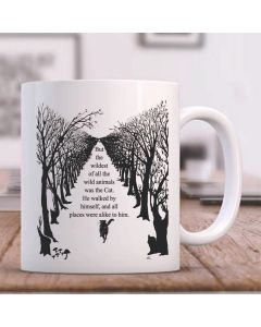 British Library The Cat Who Walked By Himself Ceramic Mug (With Text)