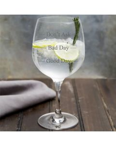Lapal Dimension Copa Gin Glass With Three Stages Design