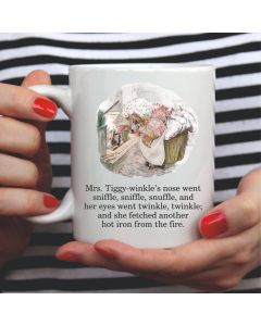 British Library Mrs Tiggy Winkle Ceramic Mug