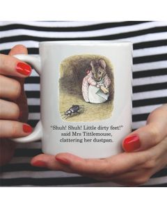British Library Mrs Tittlemouse Ceramic Mug