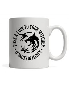 Ceramic Mug With Witcher Inspired Design