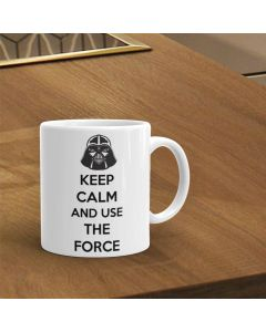 Star Wars. Keep Calm And Use The Force Mug.