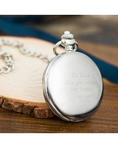 Personalised Engraved Pocket Watch