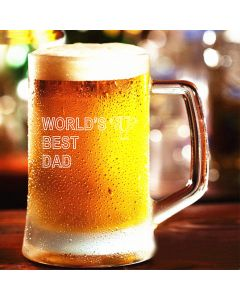 World's Best Dad Pint Stern Beer Tankard