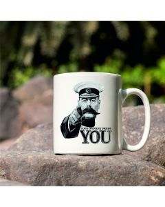 Your Country Needs You Lord Kitchener British Library World War I Commemorative Mug