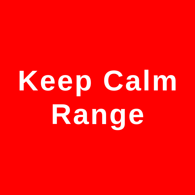 Keep Calm Range